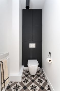 Like an excellent investment, a powder room has a significant role for your home. Find out awesome and beatiful powder room ideas here Small Toilet, New Toilet, Guest Toilet, Bad Inspiration, Bathroom Inspiration, Home Decor Inspiration, Downstairs Bathroom, Small Bathroom, Bathrooms