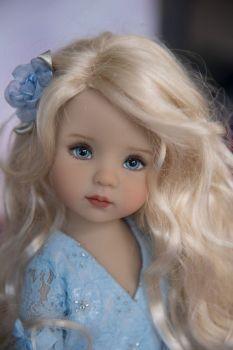 Dianna Effner Little Darling 1 - Painting Pretty Dolls, Cute Dolls, Beautiful Dolls, Doll Face Paint, Doll Painting, Child Doll, Baby Dolls, Doll Fancy Dress, Kawaii Doll