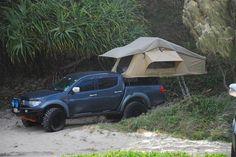 mitsubishi triton roof top tent - Pesquisa Google