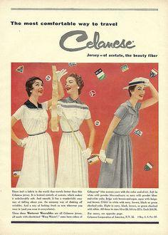 Celanese Dresses 1954