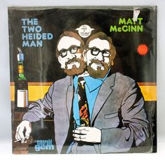 Matt McGinn Two Heided Man 1972 Vinyl Record Emerald Scottish Folk Comedy SEALED