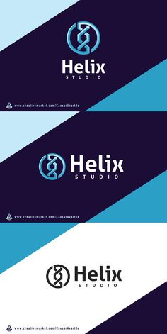 Helix DNA Logo Template