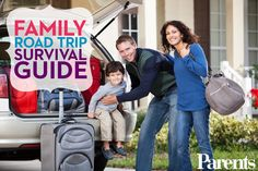 Make your family road trip safer, easier, and way more fun with our road trip survival guide.