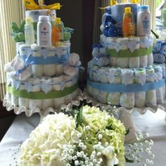 Baby shower - Diaper cakes