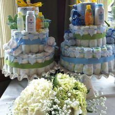 Baby shower - Diaper cakes