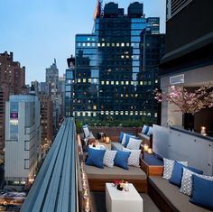 The Thompson Hotel, New York City.