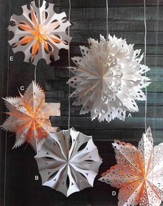 $299.00 Roost Handmade Snowflake Pendant Lamps The Roost Snowflake Pendant Lamps are a beautiful handmade lighting accessory for your home.