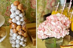 donut hole topiaries