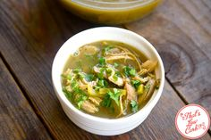 This delicious low carb chicken soup can be enjoyed by the whole family! Simply add noodles for those who don't eat low carb. Easy, and everyone is happy!