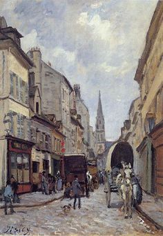#Alfred Sisley (1839 - 1899)