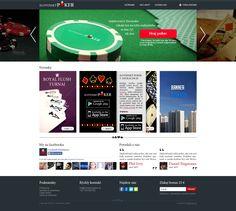 Návrh web stránky (fiktívny projekt)