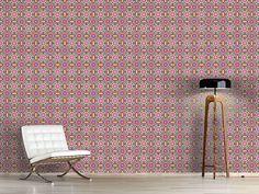 Design #Tapete Fröhliches Mosaik