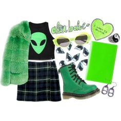 """""""green thumb"""" by tadababe on Polyvore"""