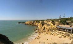 Castelo Beach with beach bar / restaurant. The nearest beach to our holiday home & bar is open all year!
