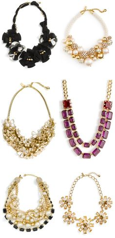 Kate Spade Statement Necklaces