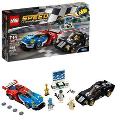 LEGO Speed Champions 2016 for GT 1966 Ford Construction Set 75881 for sale online Ford Gt 1966, 1968 Ford Mustang Fastback, Ford Gt40, Lego City Police, Lego Speed Champions, Lego Ship, Lego System, Life Car, Buy Lego