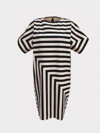 Kleid mit Streifen | Schnittmuster