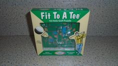Binary Arts 18-Hole Golf Puzzle- Fit to a Tee- 2 in 1- Metal Construction   #BinaryArts