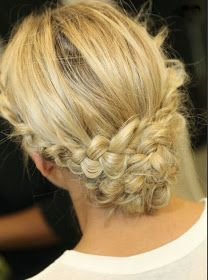 Beauty By Benz: Braids from the Monique Lhuillier Bridal show that we can wear (wedding or no wedding)