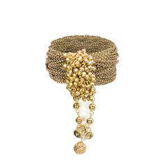BCBGeneration Multi Layer Chain Bracelet from LittleBlackBag.com  :: Antique gold:: Bracelet:: Chain:: Multi layer