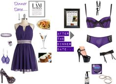 """""""Nice and Naughty Night"""" by prettifacestud on Polyvore"""