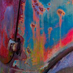 Rainbow of rust [Oxidation by StephenReed on Flickr]