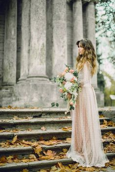 "Wedding dress ""Autum"