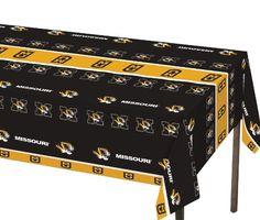 Creative Converting Missouri Tigers Plastic Banquet Table Cover Creative Converting http://www.amazon.com/dp/B0082AKIPC/ref=cm_sw_r_pi_dp_XhAWvb16NRHP9