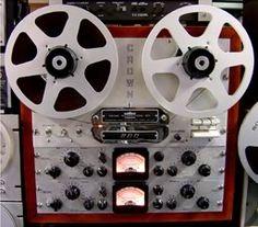 """""""CROWN - 800 ,Vintage Reel To Reel High End Reorder"""" !... http://about.me/Samissomar"""