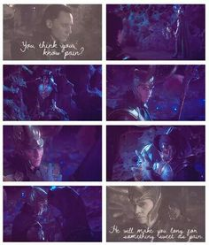 Now tell me who the real villain is <--- Loki was just an instrument in the plan...