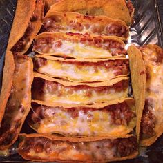 The Way I See it...: Baked Tacos