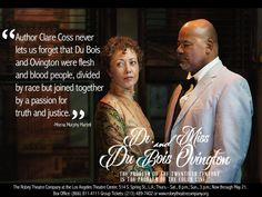 "Robey Theatre Company  Robey Theatre Presents ""Dr. Du Bois and Miss Ovington "" written by Clare Coss - directed by Ben Guillory. 1915 two courageous leaders of the @naacp cross the color line.  #thelatc #theatre #therobeytheatrecompany #robey #leadership #activist#production"