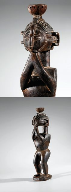 Africa | 'Nimba (D'mba)' statue from the Baga people of Guinea | Wood
