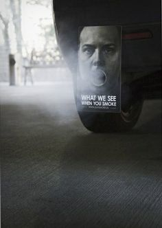 guerrilla ad smoking cmpn