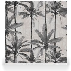 Crazy Palms Grey Beautiful Houses Interior, Beautiful Homes, Wall Design, House Design, Tropical Home Decor, Summer Paradise, Tropical Leaves, Palms, House Colors
