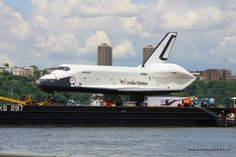 Shuttle Enterprise in NYC