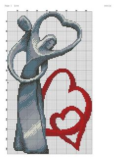 Cross Stitch Pictures, Cross Stitch Heart, Beaded Cross Stitch, Cross Stitch Borders, Cross Stitch Alphabet, Cross Stitch Kits, Cross Stitching, Cross Stitch Embroidery, Wedding Cross Stitch Patterns