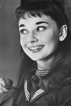 Audrey Hepburn by fred baby, via Flickr