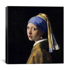 iART Johannes Vermeer 'Girl with a