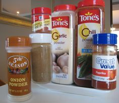 DIY Taco Seasoning...now you know what is in it!! :)