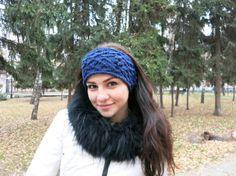 Wool headband for sports and romantic walks от AllForHappyAndLove $18,78