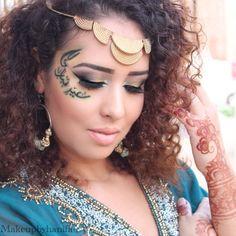 My arabic eid look, instagram: makeupbyhanifa
