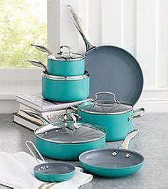 Fiesta® 11-pc. Turquoise Aluminum Cookware Set