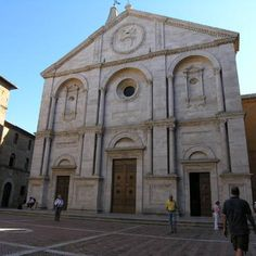 Cathedral of Pienza, Val d'Orcia