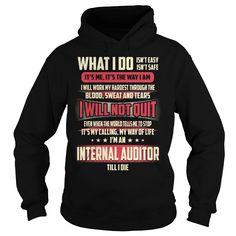 Internal Auditor Job Title T-Shirt