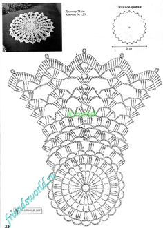 It's simple, free and blazing fast! Col Crochet, Crochet Doily Diagram, Crochet Dollies, Crochet Doily Patterns, Crochet Chart, Crochet Home, Thread Crochet, Filet Crochet, Crochet Motif