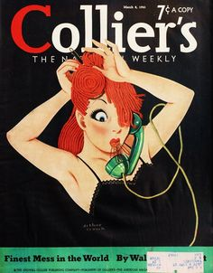 Collier's Weekly, March 1941 (Artwork by Arthus Crouch)
