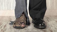 La desigualdad no genera infelicidad  Foto: Pobre y rico