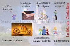 Cinderella in Bolognese dialect.   www.succedesoloabologna.it