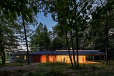 Fallingwater outbuilding renovated into student workshop and studio